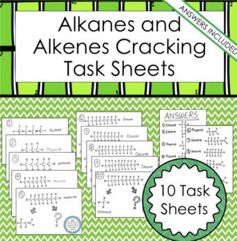 Naming Alkanes Alkenes Worksheets Teaching Resources TpT