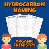 Hydrocarbon Naming Worksheet