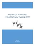 Hydrocarbons Worksheets Bundle