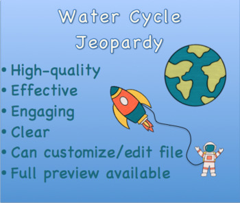 Hydrologic Cycle Jeopardy