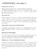 Hydroponics Pro/Con Information Sheet