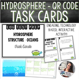 Hydrosphere Structure/Freshwater/Oceans Task Cards