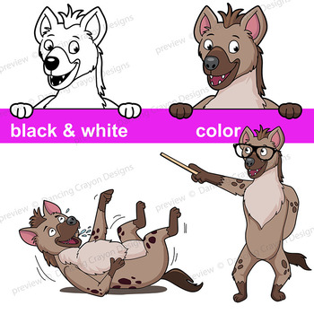 Hyena Clip Art