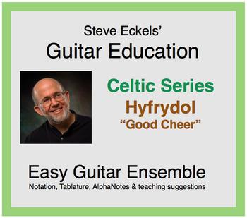 Hyfrydol (Good Cheer) - Celtic Guitar Ensemble, Guitar Trio