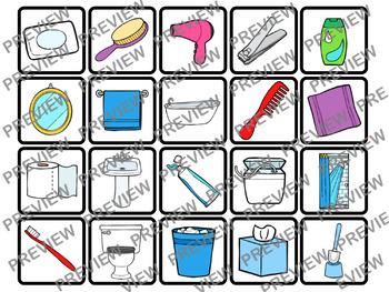 Hygiene & Bathroom Memory Activity