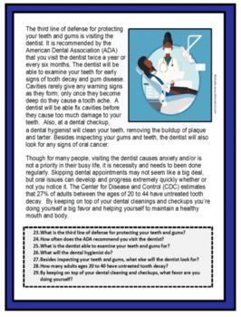 Hygiene, DENTAL AND ORAL HYGIENE, Life Skills, Health