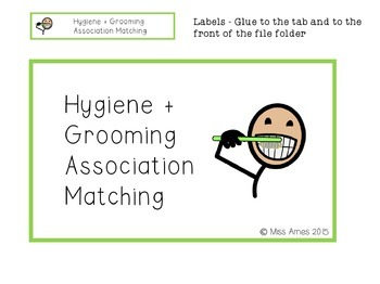 Hygiene + Grooming Association Matching
