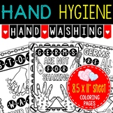 Hygiene: Hand Hygiene (handwashing coloring pages) Take ho