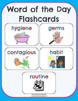 Hygiene & Healthy Habits No-Prep Thematic Unit Plan