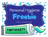 Hygiene Life Skills Freebie
