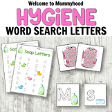 Hygiene Literacy Centers: Letters and Writing Pack Soap Theme
