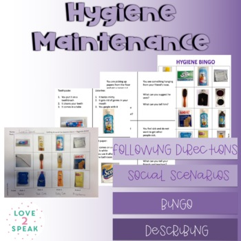 Hygiene Maintenance Development - Life Skills - Real Pictures