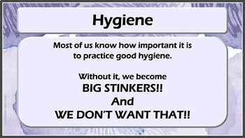 Hygiene Personal Care Character Ed Lesson w 6 video links Friendship