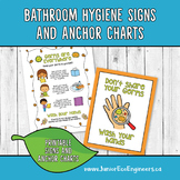 Hygiene Posters and Anchor Charts - Wash your Hands - Bath