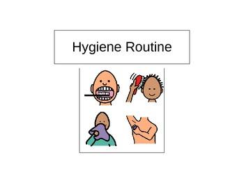 Hygiene Routine Book