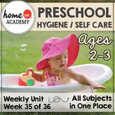 Hygiene / Self Care Preschool Unit - Printables for Preschool, PreK, Homeschool
