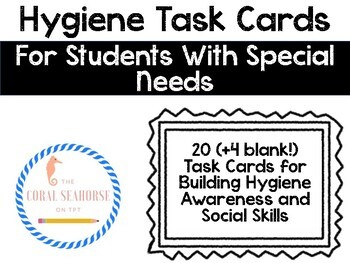 Hygiene Self-Checking Task Cards for Centers