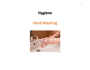 Hygiene Skills  - Hand Washing