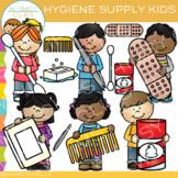 Kids Hygiene Clip Art
