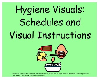 Hygiene Visuals: Schedules and Visual Instructions for Kids with Autism