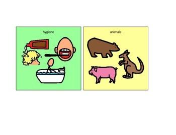 Hygiene Vocabulary & Categorization
