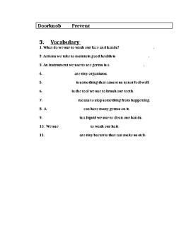 Hygiene Worksheet