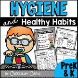 Hygiene & Healthy Habits: Hand Washing & Brushing Teeth-Dental Health {PreK & K}