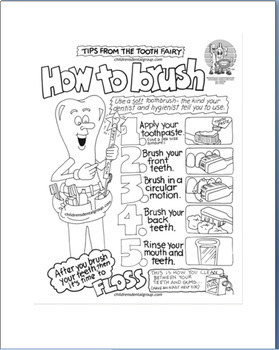 Hygiene for Elementary School Students/lesson-activities-coloring pages