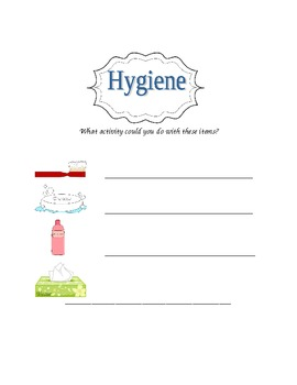 Hygiene...Simple inferences