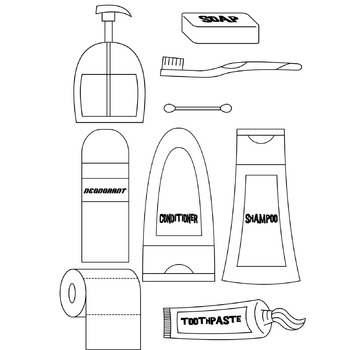 Hygienic Products Freebie Clipart