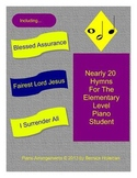 Nearly 20 Hymns For The Elementary Level Piano Student