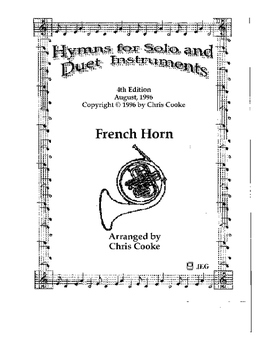 Hymns for Solo and Duet Instruments French Horn