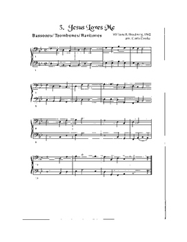 Hymns for Solo and Duet Instruments Trombone-Baritone-Bassoon