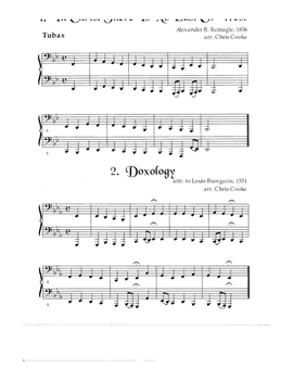 Hymns for Solo and Duet Instruments Tuba