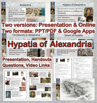 Ancient Rome: Hypatia of Alexandria - The End of the Class