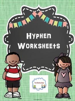 Hyphen Worksheets