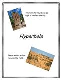 Figurative Language Hyperbole Activities