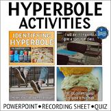 Hyperbole PowerPoint Activities