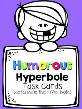 Hyperbole About Me {Hyperbole Activity Pack}