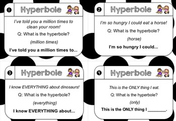 NEW: Hyperbole Chatter Cards
