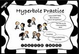 NEW: Hyperbole Chatter Cards