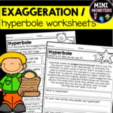 Hyperbole Exaggeration Worksheets