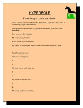 Hyperbole - Figurative Language