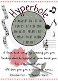 Hyperbole Figurative Language Poster