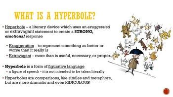 Hyperbole/Figurative Language Mini-Lesson, Demo-Lesson, or Interview Lesson!
