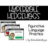 Hyperbole Hedgehogs: An Interactive Figurative Language Ga