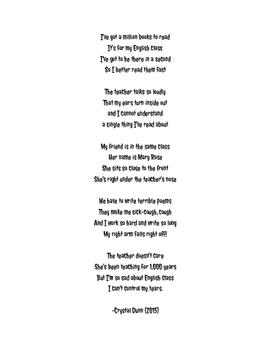 Hyperbole Poem