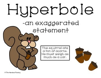Hyperbole Poster and Booklet