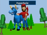 Hyperbole Power Point Lesson and Interactive Quiz