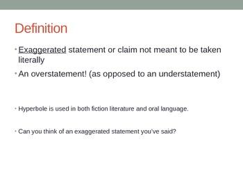 Hyperbole Powerpoint